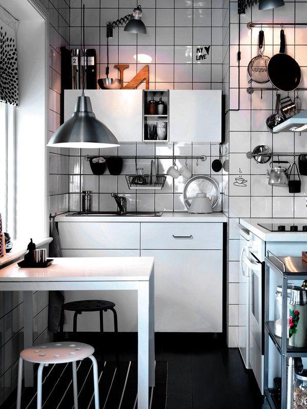Ideas y estilos comedores en la cocina with bloc - Kitchenette pas cher ...