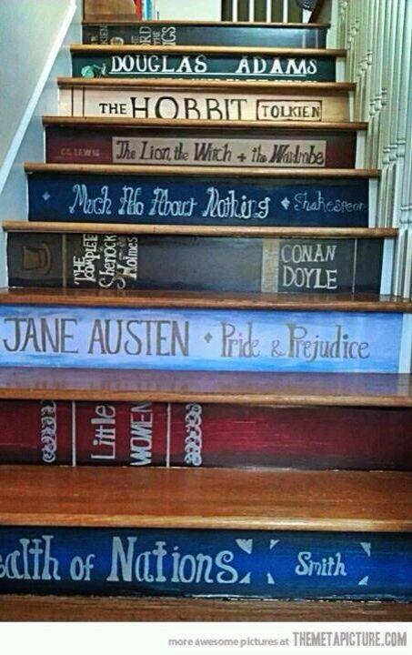 Tänk en sån här trappa...