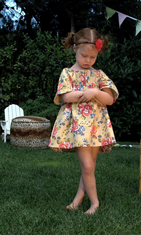 Missflamingo Summer Kaftan Dress