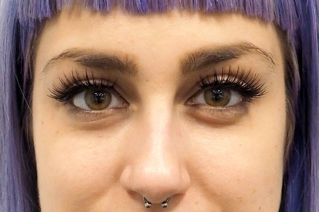 The multilayered effect of this extra-dark pair makes lashes look insanely lush.