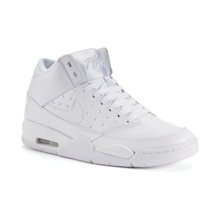 Nike Air Flight Classic Men's Basketball Shoes, Size: 11.5, White Oth