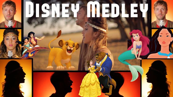 Epic Disney Medley - Peter Hollens & Alex G This is so amazing!!!!
