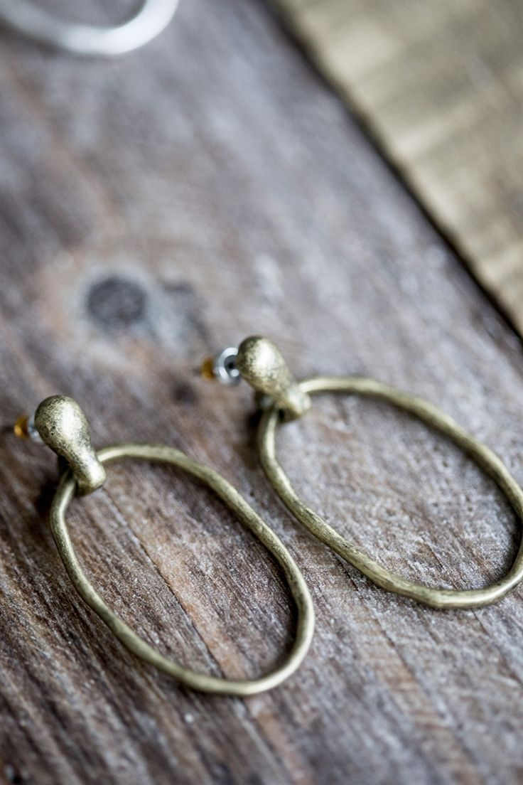 The Little Black Dress Boutique Limited. Tutti & Co Stud and Hoop Drop Earrings - EA107G