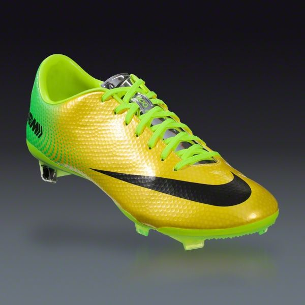 View Nike Mens Mercurial Veloce II Firm Ground Football Boots Football Store Shop Football Store COLOUR-yellow