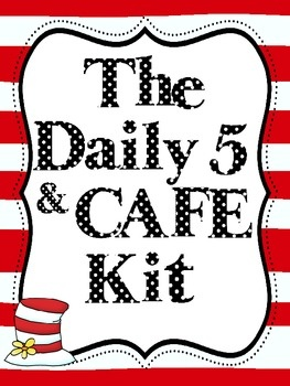 Daily 5 and CAFE printables.  Seuss?  I need to check this out.Daily5