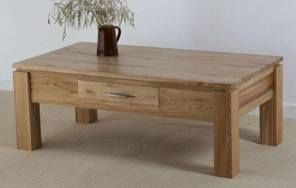 Galway Solid Oak Funiture Range Oak Coffee Table   Oak Furniture Land    www.oakfurnitureland.co.uk