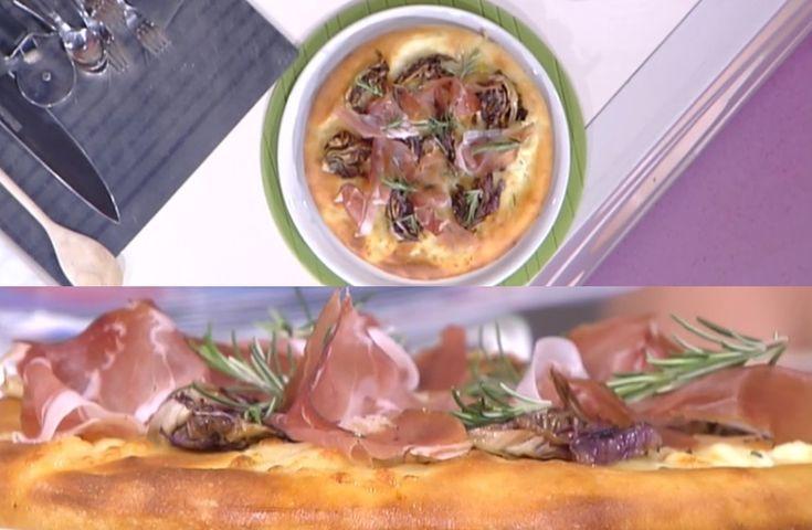 """""""Detto Fatto"""": la ricetta della pizza bufala radicchio e speck di Gianfranco Iervolino del 7 marzo 2018."""
