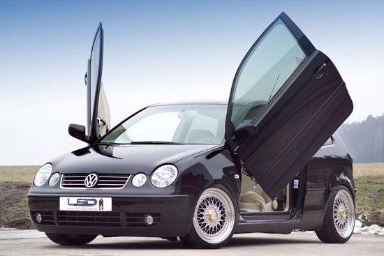 LSD wing doors now VW Polo 9N