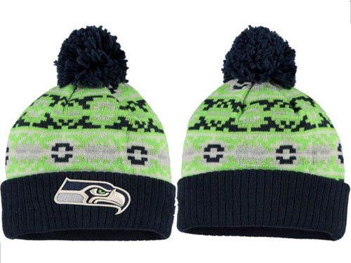 367fd883 2017 Winter NFL Fashion Beanie Sports Fans Knit hat | NFL Seattle ...