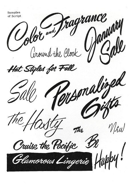 Brush Script Lettering Sign Painting Course By E C