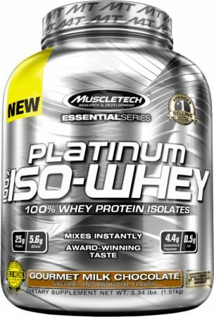 Essential Platinum 100% Iso Whey by Muscletech