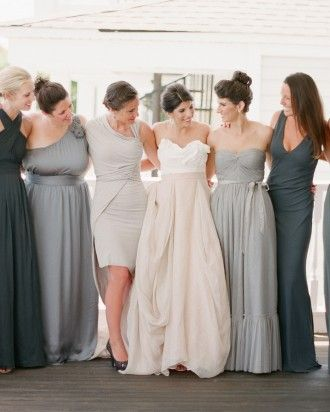 """See the """"The Bridesmaids"""" in CJ and Adrien's French-Influenced Southern Wedding gallery"""