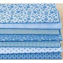 Patchwork- und Quiltpaket 'Blaue Stunde', jeansblau