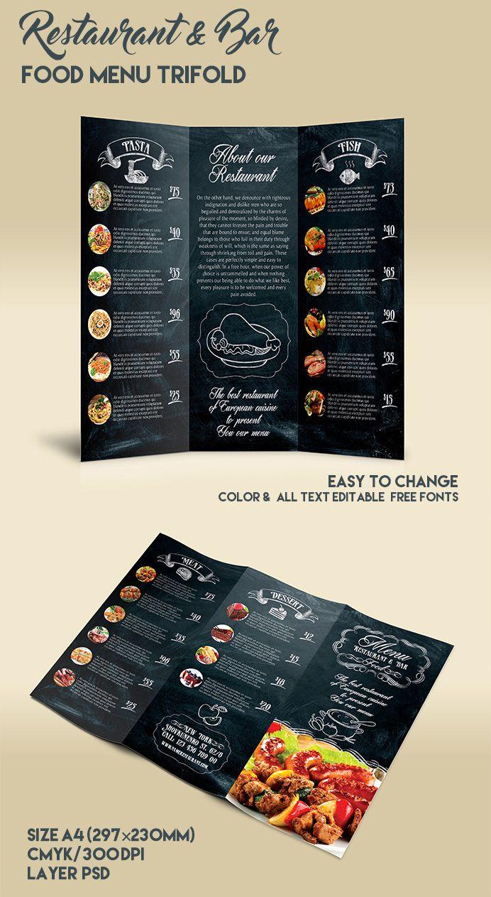 Free Printable Restaurant Menu Templates Zohre With Regard To Free Cafe Menu Templates For Word Menu Template Word Menu Template Menu Restaurant