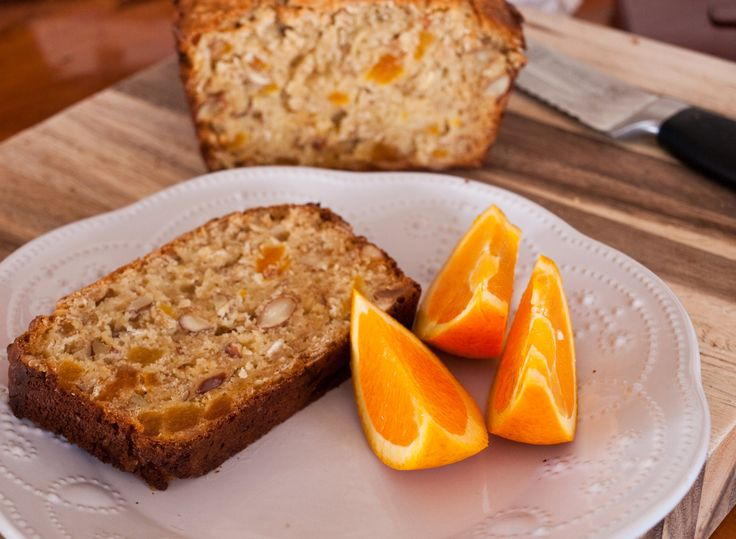 Apricot and Almond Breakfast Loaf by tastyshoestring.com