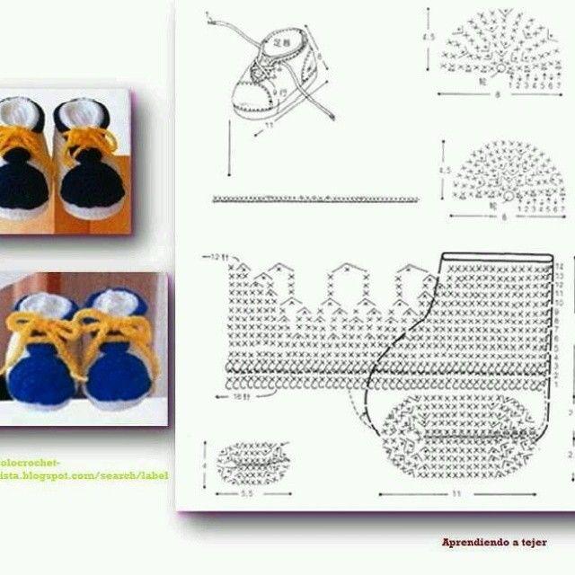 193 best boties images on Pinterest | Zapatos tejidos, Zapatitos de ...