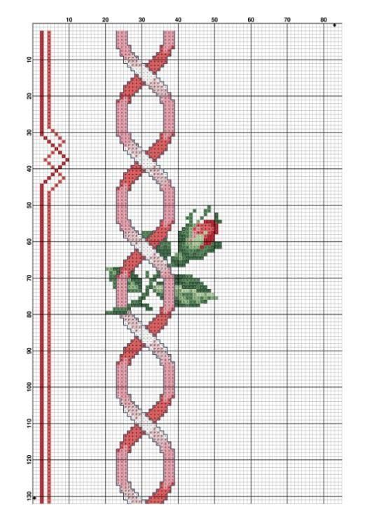 Rose e campanule rosse 3