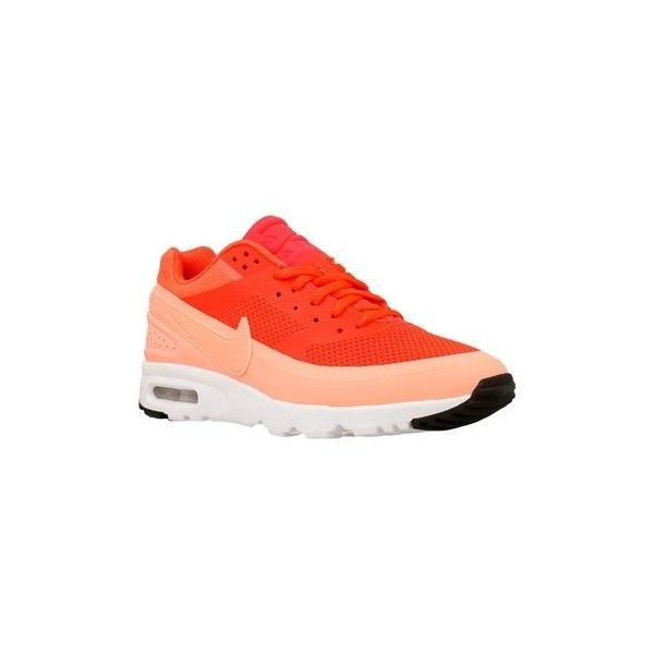 Nike W Air Max BW Ultra Shoes (Trainers) ($225) ❤ liked on Polyvore featuring shoes, sneakers, orange, trainers, women, nike footwear, nike, orange sneakers, nike trainers and orange shoes