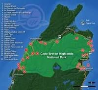 cabot trail map - Google Search