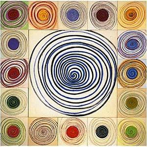 Wat een creatieve schrijfoef !...relatie met vorm en kleur