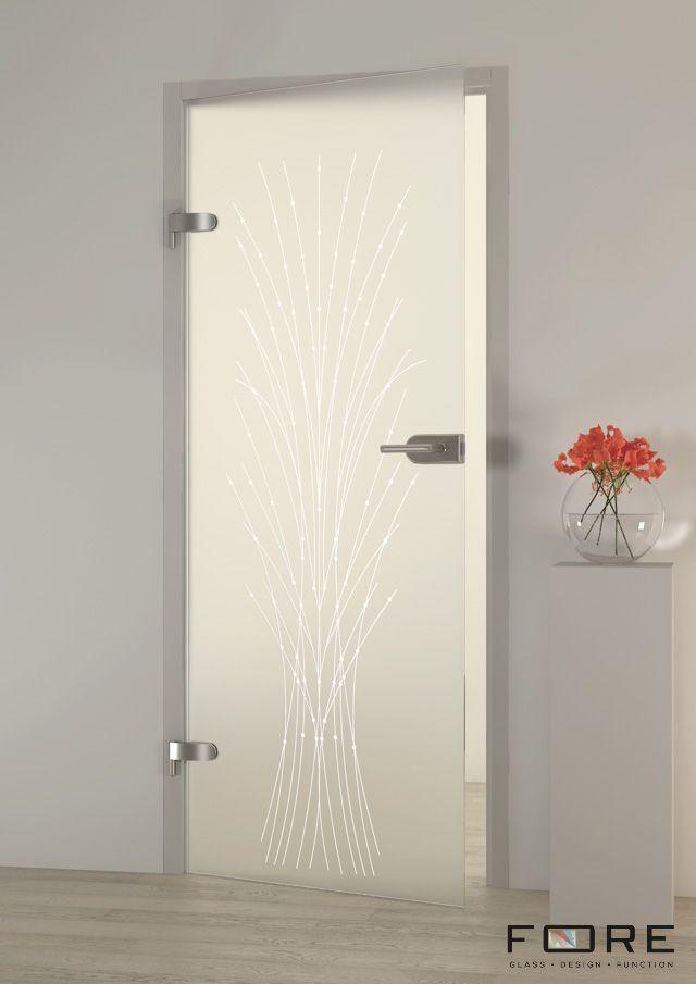 Drzwi szklane Alessia, glass doors, www.fore-glass.com, #drzwi #drzwiszklane #drzwiwewnetrzne #szklane #glassdoor #glassdoors #interiordoor #glass #fore #foreglass #wnetrza #architektura