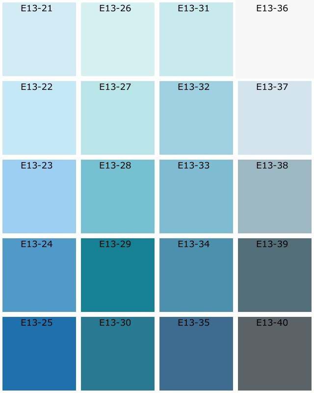 awesome nuancier de bleu peinture toilettes pinterest nuancier de couleur tableaux de. Black Bedroom Furniture Sets. Home Design Ideas