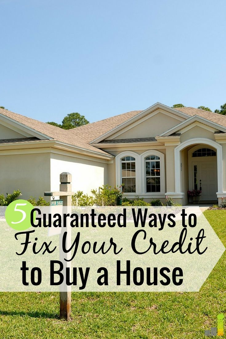 How To Get Your Credit Ready To Buy A House Fix My Credit