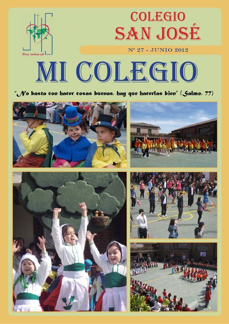 Revista Junio 2012  Aquí podrás ver la revista de Nuestro Colegio. Junio 2012