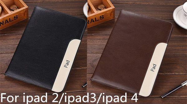 2013 New hot sell fashion Vintage retro Pu leather case stand cover bag For Apple ipad2 ipad3 ipad 4 #Affiliate