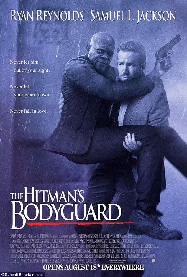 I will always SPOOF you! Samuel L Jackson and Ryan Reynolds recreate Whitney Houston's 1992 movie poster
