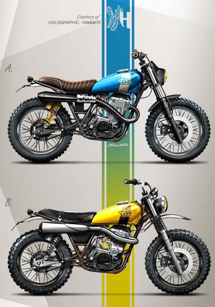 scrambled xt500 by holographic hammer (1100×1568)