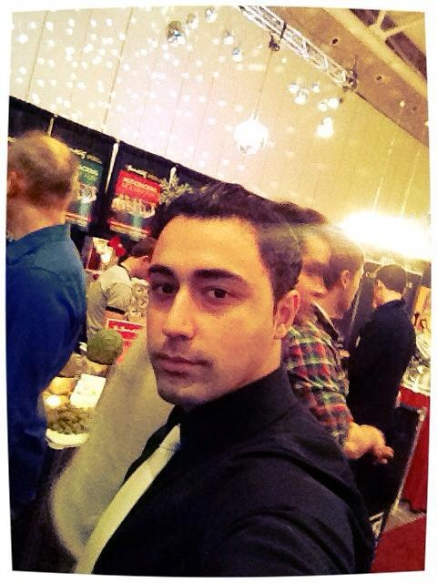 IBS Student at a Wine trade Show - Toronto 2012