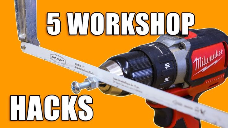 5 Quick Workshop Life Hacks. #woodworking #LifeHacks