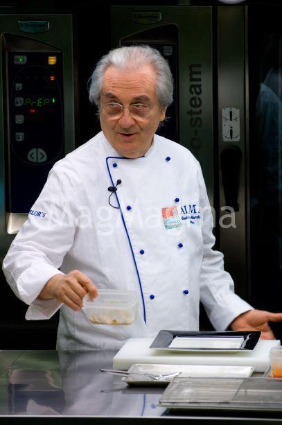 Chef Gualtiero Marchesi