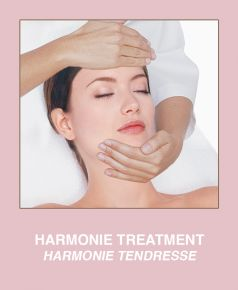 Harmonie Tendresse Treatment. High tolerance actives in accordance with its fragility and an exquisite application program compose the professional HARMONIE treatment, a melody of calm, self-protection, hydration and regeneration.