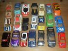 Scalextric load of spares or repairs saloon car shells. All have some damage