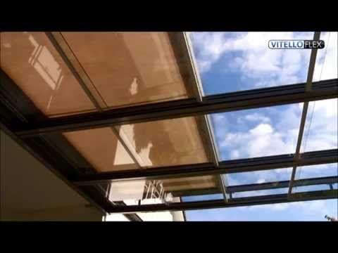 Topterrasoverkappingen.nl | Vitello-Flex® | schuifbare overkapping met glas