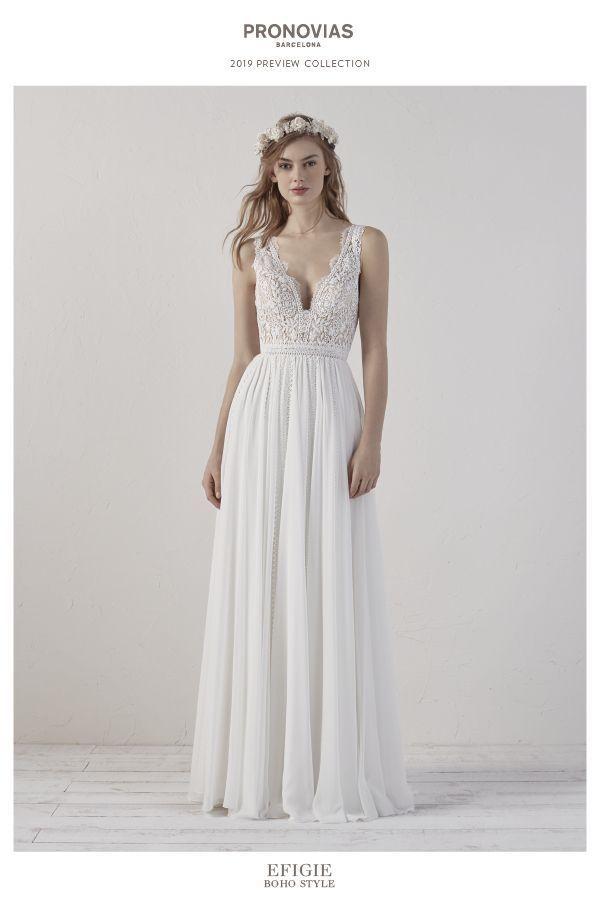 colección de vestidos de novia: pronovias 2019 - desde la novia más