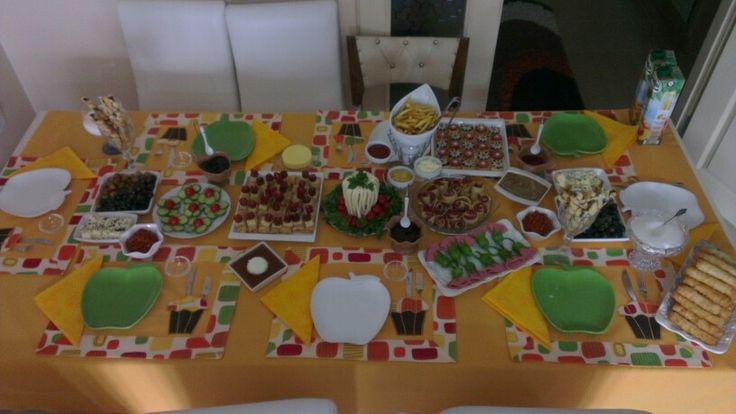 Sevdiklerinle yapılan kahvaltı candır :)