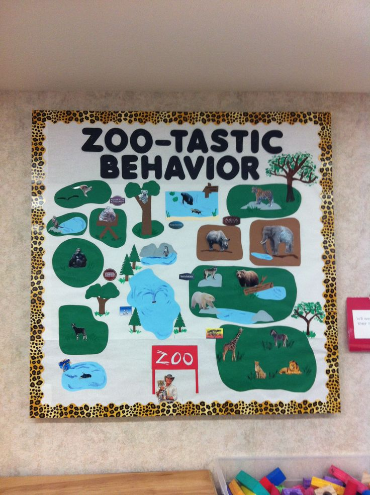 9 Best Images About Zoo Bulletin Boards On Pinterest