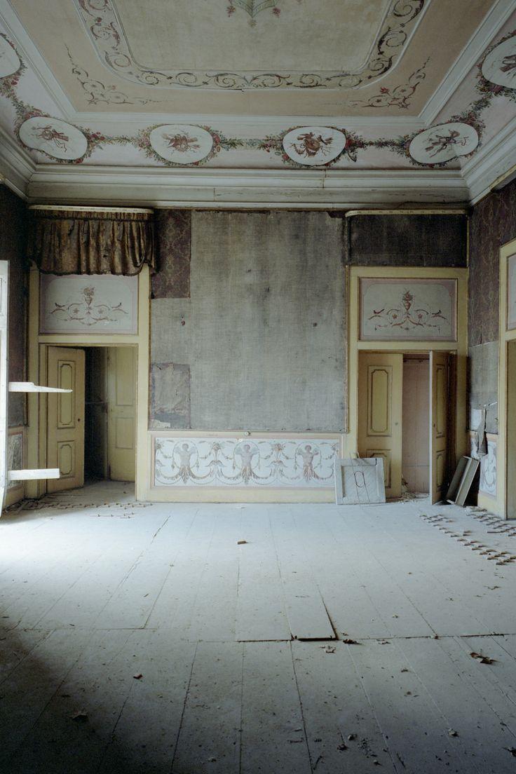 Salão do Palácio da Rosa. A casa foi objeto de uma grande intervenção no século XVIII