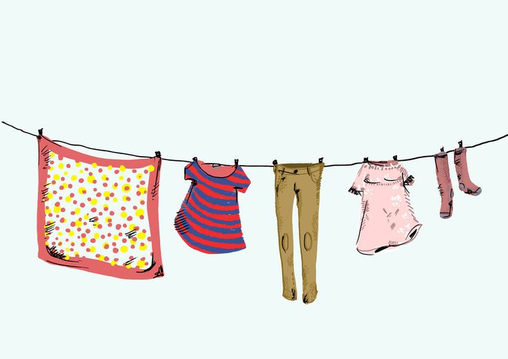 Colgar las ropas