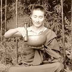 Tibetan Singing Bowl History, An Interview with Lama Lobsang Leshe