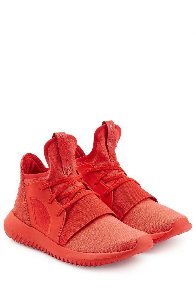 #Adidas #Originals #Sneakers #Tubular #Defiant #> #Rot für #Damen - Stehen für einen progressiven Look mit femininem Touch: die monochromen Sneakers Tubular Defiant in sattem Rot von Adidas Originals  >  mit einem Wildleder > Detail samt Animal > Print  >  Monochromes Design in Rot, extragroße Zunge mit Zugschlaufe, Schnürung, Fersenbereich aus Wildleder mit Animal > Folienprint  >  Jersey > Futter, von Reifenschläuchen inspirierte, einteilige Zwischen >  und Außensohle aus EVA  >  Tragen…