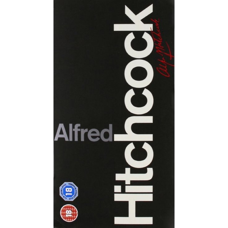 Alfred Hitchcock 14-DVD Set // Classic Films and TV Shows at Back in the Days