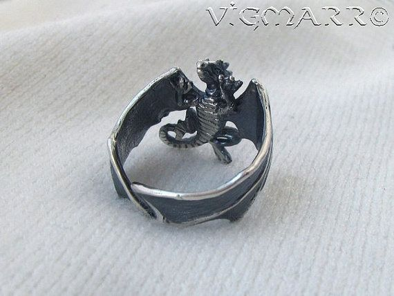 Silver Dragon Ring. Ring fits on finger with circumferences from 5.5 to 11.5 size (US). Material: • Silver 925. A Look at the Dragon Totem Meanings A Dragon totem is one of the most powerful totems. representing a huge range of qualities. emotions. and traits. When Dragons come to us. it