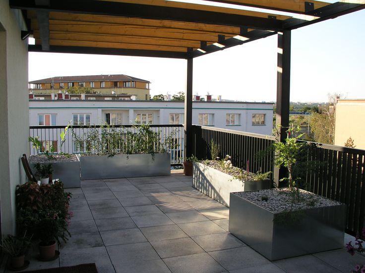 zahradní design - obytná městská terasa garden design - city terrace