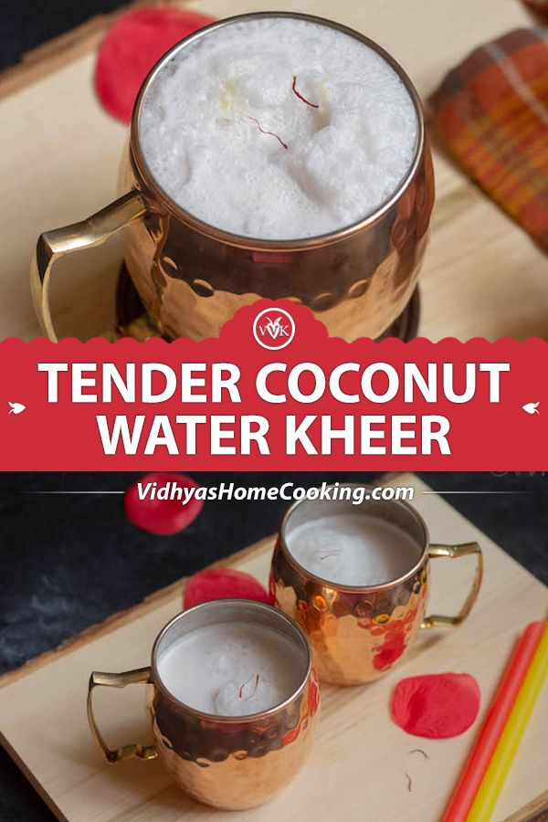 A No Cook Kheer Or Dessert Smoothie Recipe With Coconut Milk
