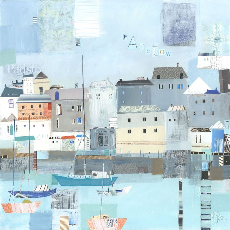 Padstow Harbour (W384) Coastal Greetings Card by Liz and Kate Pope http://www.thewhistlefish.com/product/w384-padstow-harbour-greeting-card-by-liz-and-kate-pope #padstow #cornwall