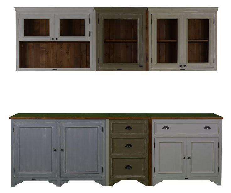 MMW A2 +3F 55 cm széles alsó szekrény + 3 fiók | My Mood Wood